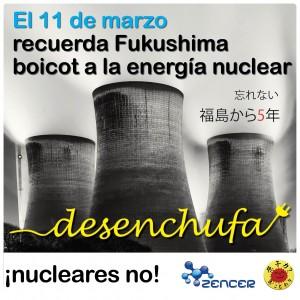 Desenchufa de la nuclear