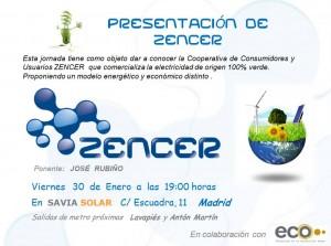 Presentación Zencer en Madrid