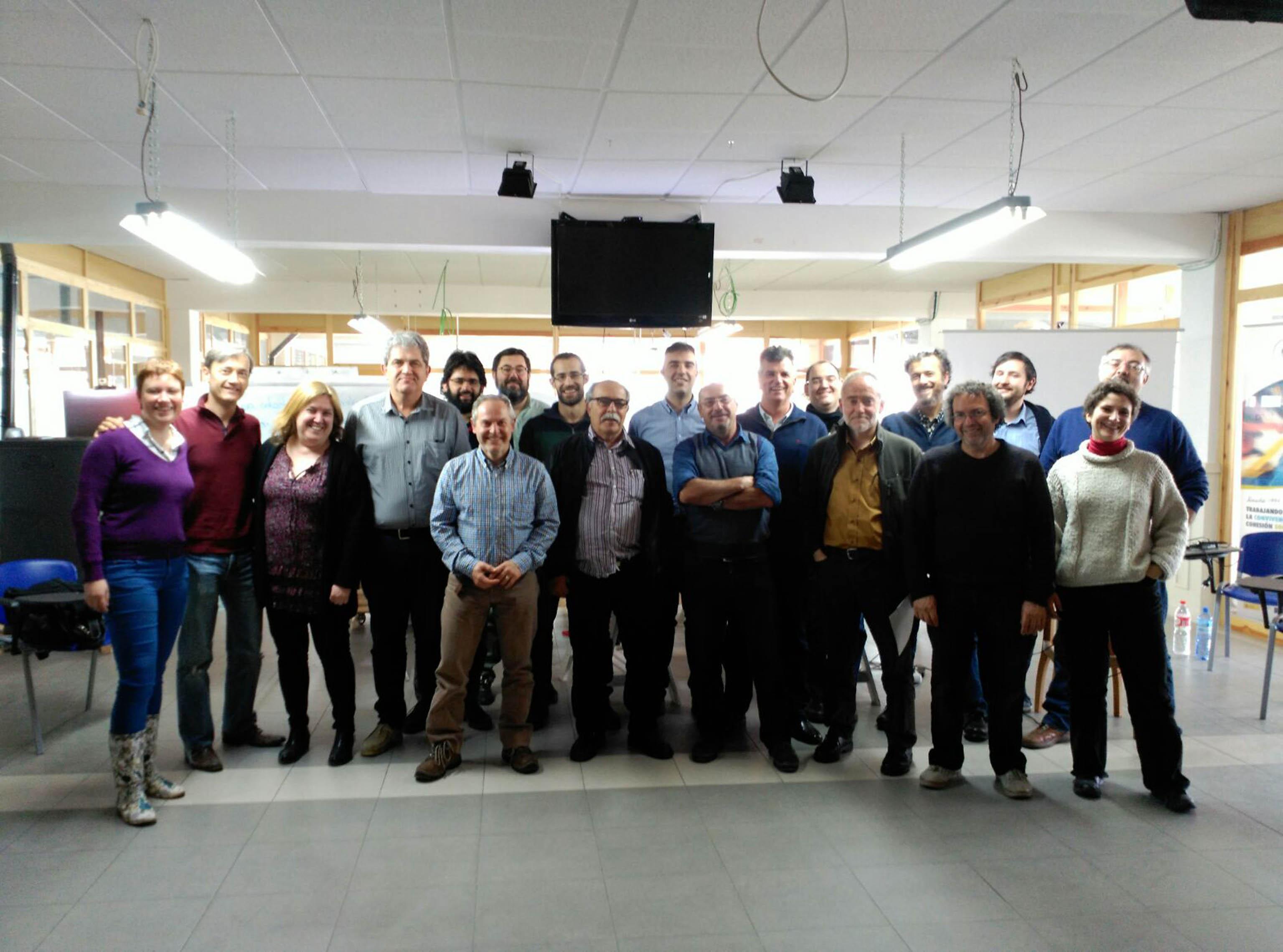 Foto de grupo de la Unión de Cooperativas reunido en Soria