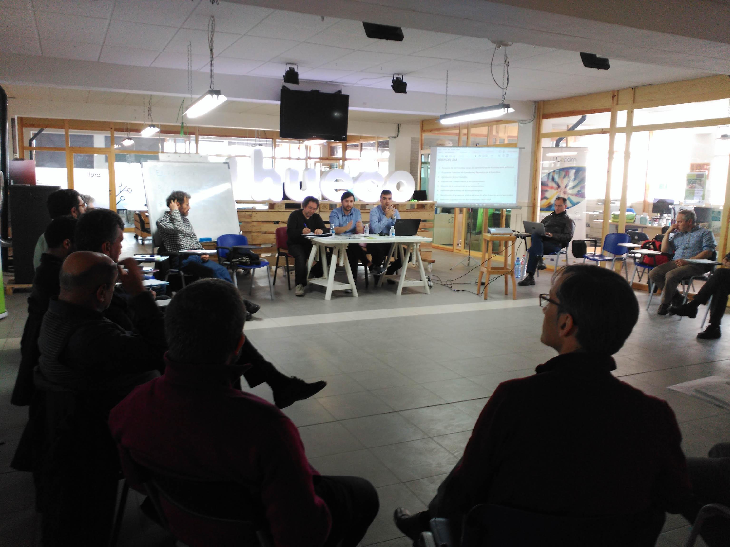 Reunión de la Unión de Cooperativas en Soria