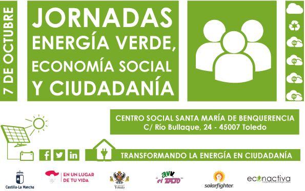 Jornadas de energía verde, economía social y ciudadanía