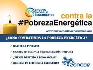 Px1NME y Zencer contra la pobreza energética